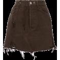 sharee64 - ALMAZ fitted denim skirt - Skirts - $469.00