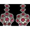 beautifulplace - AMRAPALI 18-karat gold ruby and diamond - Aretes -