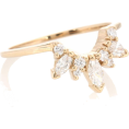 glamoura - ANNA SHEFFIELD Marquise Butterfly Tiara - Rings -