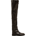 beautifulplace - ANN DEMEULEMEESTER  Buckled over-the-kne - Boots -