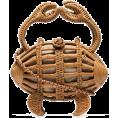 beautifulplace - ARANAZ Crab wicker clutch bag - Hand bag -