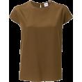 lence59 - ASPESI cap-sleeve blouse - Shirts -