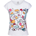 PINaR ERIS - Abstract Hand Drawn Colorful T-shirt - Majice - kratke - $42.00  ~ 36.07€