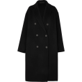 Aurora  - Acne Black Oversized Coat - Kurtka -