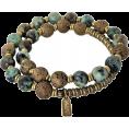 sandra  - African Turquoise Mala Bracelet - Pulseiras -