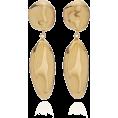 glamoura - Agmes Patrice Gold Vermeil Earrings - Earrings -