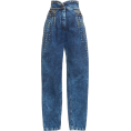 Georgine Dagher - Alberta Ferretti High Waisted Jean - Jeans -
