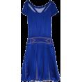 sandra  - Alberta Ferretti, pleated silk dress - Dresses -