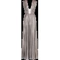 sandra  - Alberta Ferretti silver gown - Dresses -