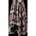 sandra  - Alexander McQueen tartan skirt - Skirts -