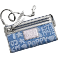 COACH - Coach Signature Star Doodle Zippy Capacity Clutch Wallet Wristlet Bag 45490 Denim - Novčanici - $108.99  ~ 93.61€