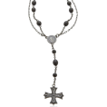 GUESS - Guess Men's Double Chain Necklace - Necklaces - $28.00