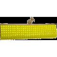 kate spade NEW YORK - Kate Spade Lemon Drop Framed Lella Clutch - Clutch bags - $295.75