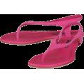RALPH LAUREN - Ralph Lauren 'Yadira' Thong Sandals Womens - Pink - Thongs - $99.99