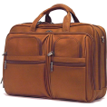 Samsonite - Samsonite Business Leather Laptop Bag - Torby podróżne - $300.00  ~ 226.53€