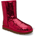 UGG Australia - UGG Australia Women's Classic Sparkle Short Boots Footwear Ruby Red - Boots - $167.00