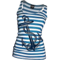 amethystsky - Anchors Away Tank  - Tanks - $21.95