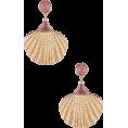 beautifulplace - Ariel Shell Drop Earring  SHASHI brand: - Earrings -