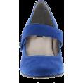 Sheri P - Array Sapphire Blue Suede Mary Janes - Classic shoes & Pumps - $53.99