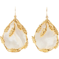 Crazy Zany Fake - Aurelie Bidermann Gold Pearl Earrings - Серьги - $310.00  ~ 234.09€