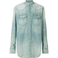 carola-corana - BALMAIN distressed denim shirt - Long sleeves shirts - 820.00€  ~ $954.73