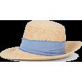 beautifulplace - BARNEYS NEW YORK Abigail Braided Raffia - Sombreros -