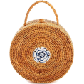 lence59 - BASKET WEAVE CIRCLE BAG - Torebki - $74.00  ~ 63.56€