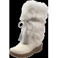 Bearpaw - BEARPAW Women's Shako Fur Boot White - Boots - $149.99