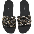 lence59 - BEJEWELLED SLIDES - Sandals -