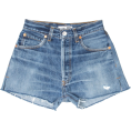 beautifulplace - BLUE DENIM - JEANS SHORTS 23 Levi's - pantaloncini -