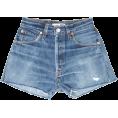 beautifulplace - BLUE DENIM - JEANS SHORTS 23 Levi's - Shorts -