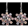 beautifulplace - BOTTEGA VENETA  Crystal floral-drop earr - Earrings -