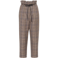 beautifulplace - BRUNELLO CUCINELLI Checked wool pants - Spodnie Capri -