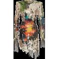 spabrah - Balmain Mirror Embroidered Print Dress - 连衣裙 -
