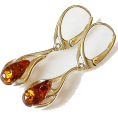 Sabaheta - Baltics Amber earrings, sterling silver. - Other jewelry -