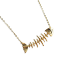 StellaLura - Baram Fishbone Necklace - Halsketten - $77.90  ~ 66.91€