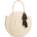 beautifulplace - Beach Weekend Straw Tote L SPACE - Torebki -