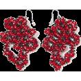 ValeriaM - Beaded Earrings by Maria Calderara - Earrings - $205.00