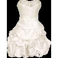 PacificPlex - Beaded Taffeta Party Mini Bubble Dress Prom Holiday Ivory - Dresses - $99.99