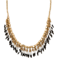 pwhiteaurora - Beaded Fringe Seedbead Necklace - Necklaces - $14.99