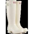 Biccarina - Beige rain boots - Boots -