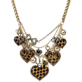 lence59 - Betsey Johnson Heart Statement Necklace - Necklaces -