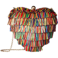 lence59 - Betsey Johnson Hearts Don't Lie Clutch - Hand bag -