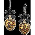 lence59 - Betsey Johnson Leopard Heart - Earrings -