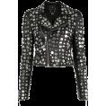 Aida Susi Silva - Biker jacket with applications - BO.BÔ - Jacket - coats -