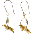 Evan James - Bird Earrings (Margo) - Earrings -