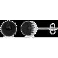 Angara Inc.  - Black Onyx Stud Earrings - Earrings - $299.00