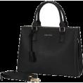 Bev Martin - Black Satchel Handbag - Hand bag -