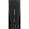 FineBrandShop - Black Seamless Capri Leggings Three Quarter Length - Leggings - $5.95