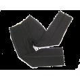 vespagirl - Black Tuxedo Stripe Pants - Jeans -